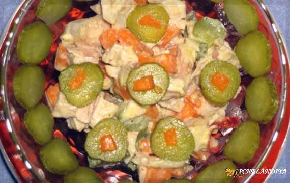 кулинарные рецепты салаты,закуски