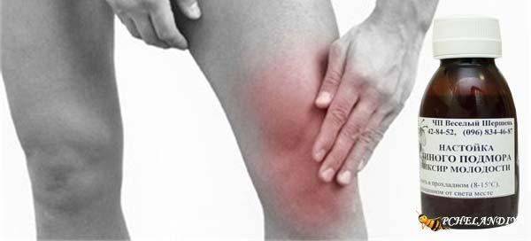 боль в коленном суставе при ходьбе лечение народными средствами