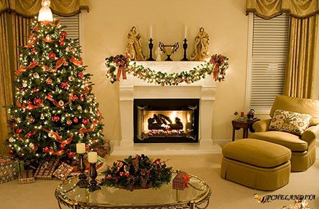 Как украсить дом в новый год своими