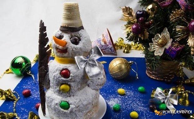 Новогодние торты и печенье 2018
