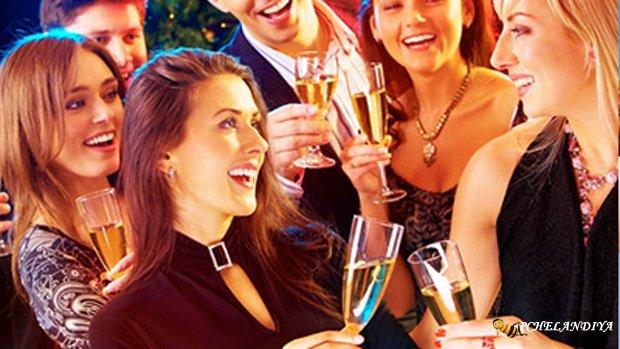 Вечеринка для нового года 2018