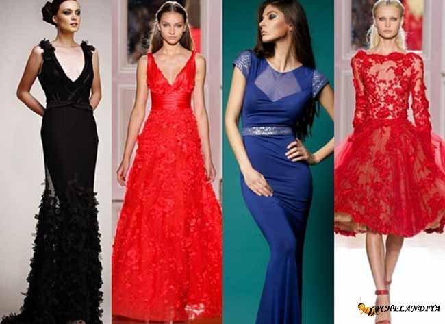 Стильные платья для нового года 2017